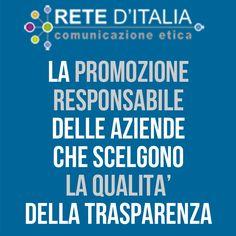 RETE D'ITALIA - La Promozione Responsabile e la Comunicazione Etica per Aziende