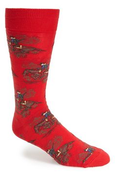 Polo Ralph Lauren Cowboy Print Socks