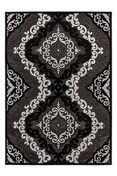 Teppich Fußboden Design Turkey - Ankara Schwarz 80cm x 300cm 85% Polypropylen, 15% Chenille Kayoom http://www.amazon.de/dp/B015D0ONTK/ref=cm_sw_r_pi_dp_TKC.vb0MBXJ70