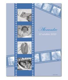Décoration chambre bébé bleu (O3-59)