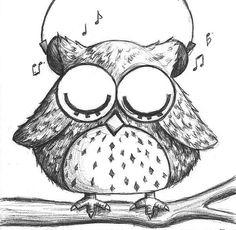 Music Owl by B-Keks.deviantart.com on @deviantART