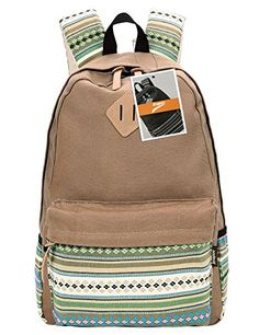 Leaper Casual Style Lightweight Canvas Laptop Bag Cute backpacks  Shoulder  Bag  School Backpack 369f553a921d4