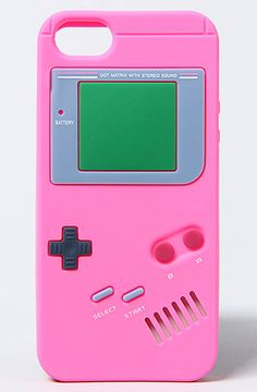 *Accessories Boutique The Old School Gameboy Iphone 5 Case in Pink : Karmaloop.com - Global Concrete Culture