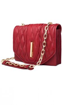 With granulated quilted surface of the leather, th