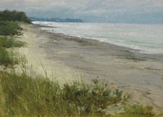 Vose Galleries - Solitary Shore by Donald Demers