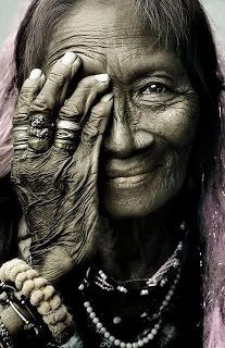 Celebrating the Wisdom of Age - In Ancient times, older women were the keepers of primal Mysteries and were revered for their special wisdom.    And so it is and should be today!    Picture taken from Wild Women Sisterhood