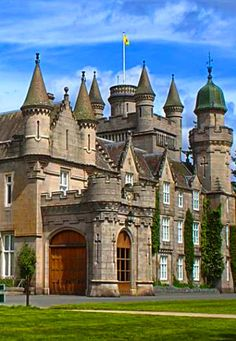 Balmoral Castle, Scotland, UK