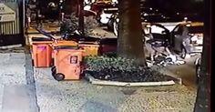 Imagens mostram arrastão no Flamengo, na Zona Sul do Rio