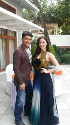 Kapil Sharma begins Shooting with Elli Avram