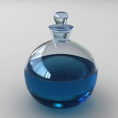 magic potion bottle by randomize Ravenclaw, Yennefer Of Vengerberg, The Adventure Zone, Harry Potter Aesthetic, Potion Bottle, Albus Dumbledore, Hogwarts Houses, Blue Aesthetic, Witches