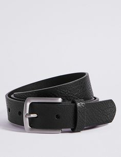 Rectangle Buckle Chino Belt