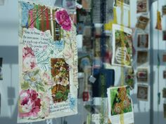 Cas Holmes - Tea Flora Tales and Textile Landscape - Knitting & Stitching London 2018