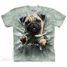 The Mountain-Shirts HundeMops - Break-Thru