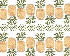 pineapple print. Kendra Dandy