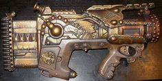 Nerf Mods and Reviews: Nerf and Steampunk