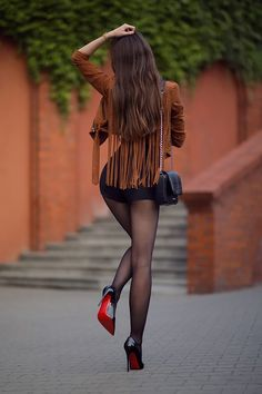 Great Legs, Beautiful Legs, Sexy Outfits, Sexy Dresses, Short Dresses, Look Fashion, Fashion Models, Fashion Beauty, Pantyhose Outfits