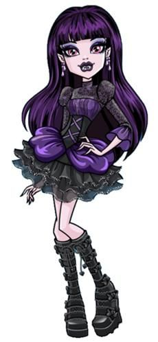Elissabat, aka Veronica Von Vamp. Friend of Draculaura's. She grew up among the nobility of Transylvania