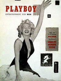 Marilyn Monroe 1st Issue Of Playboy Magazine Cover (1953)