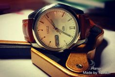 Watch strap for Seiko5 Size 20-18mm Tomkin handmade leather 0908.723.555 Add: No8,alley 204D/2 DoiCan str,Ba Dinh,HN #Seiko5 #watchstrap #leather_handmade #by_Tomkin #hanoi #Vietnam