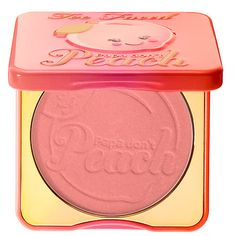 Shop Too Faced's Papa Don't Peach Blush at Sephora. The peachy bronzer brings radiance on the cheeks for the look of summertime warmth.
