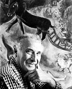 Marc Chagall, photograph by Arnold Newman, 1956