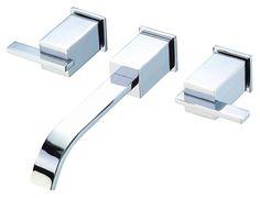 Two Handle Wall Mount Lavatory Faucet Trim Kit   Danze
