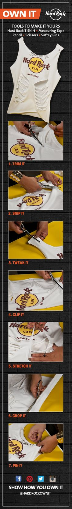 Trim it. Tweak It. Pin it. #hardrockownit #hardrock #hardrockcafe