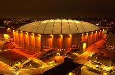 Carrier Dome, Syracuse, NY - a staple of my hometown city...witnessed sports history here many a time