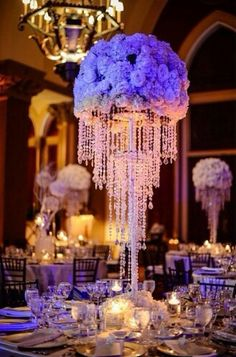 20 silver wedding chandeliers centerpieces decorations crystal rent your crystal chandeliers in advance from ila design greater boston weddings wedding flowers aloadofball Choice Image