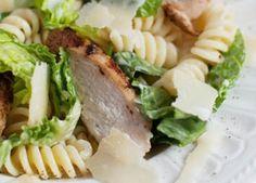 Rezept Chicken Cesar Salat mit Pasta
