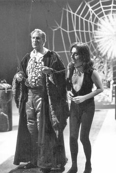 Alice Cooper and Vincent Price Welcome to my Nightmare