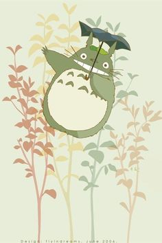 Awww! My Neighbor Totoro by Hayao MIYAZAKI, Japan