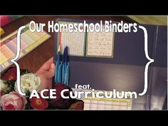 Our Homeschool Binders (featuring Accelerated Christian Education [ACE] ...