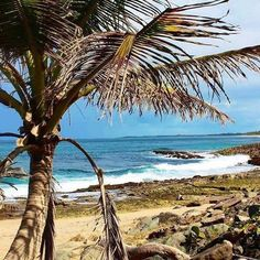 La Posita is a long beach :palm_tree: on the Atlantic side of Puerto Rico with a rock wall creating a safe shallow natural pool protected from the strong surf, making it a great beach for families with small children.  It's a great stop for travelers who