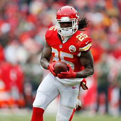 Matthew Berry explains why Chiefs running back Jamaal Charles should be the No. 1 overall fantasy draft pick in Jamaal Charles, Fantasy Draft, Kansas City Chiefs Football, Running Back, Fantasy Football, Acrylic Art, Football Helmets, Sports, Hs Sports