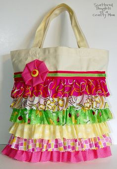 looks like an easy project that can be a no-sew or a sewing project.