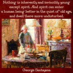 George Santayana, Old Age, Young At Heart, Forever Young, Painting, Oc, Painting Art, Paintings, Drawings