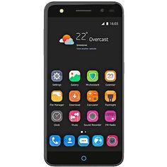 ZTE Blade V7 Lite, Smartphone, 16 GB, 5 Zoll, Grau, LTE