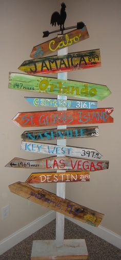 Customized Key West Style Distressed Wooden Mile Marker Directional Sign for Decor or Special Occass Lovely Nails lovely nails key west Key West Decor, Nashville, Key West Style, Nautical Signs, Tumblr Rooms, Myrtle Beach Sc, Directional Signs, Beach Room, Beach Signs