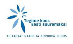 Estonia, 10 years in EU 10 Years, Logos, Home Decor, Self, Homemade Home Decor, A Logo, Interior Design, Home Interiors, Decoration Home