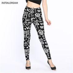 2016 Lip Dot Cartoon Leggings Women With Print leggings soft hot thickness spandex /Cotton Pants Legging stretch female leggins