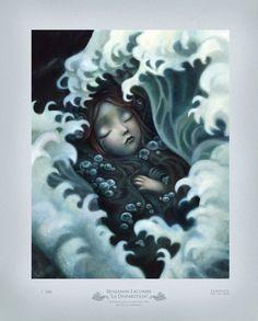 Laminate — Benjamin Lacombe x LAMINATE Series Print