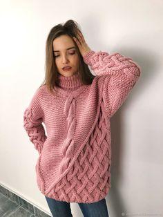 Одежда повседневная женская — купить в интернет-магазине на Ярмарке Мастеров с доставкой Pullover, Knitting, Sweaters, How To Wear, Turtle Neck, Knits, Tricot, Knitwear, Sweater