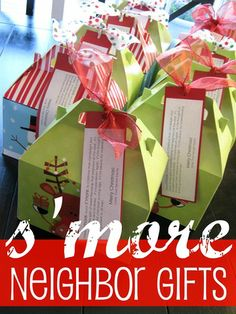 s'more gift for the holidays but any other time too...just find a different poem
