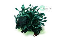 Tangela by MrRedButcher on DeviantArt