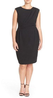 nice dress for work and beyond, in plus, petite, and regular sizes