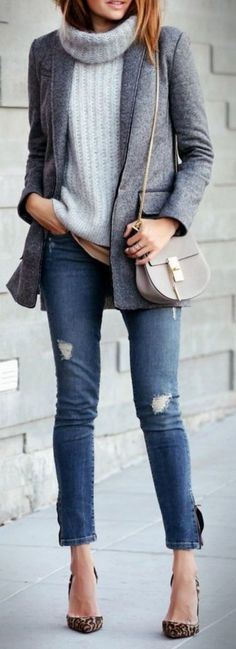 ( link) 35 Trendy and Stylish Winter Outfits with Blazer Inspiration 4 Teen Winter Outfits, Stylish Winter Outfits, Outfits For Teens, Trendy Outfits, Fall Winter Outfits, Cute Outfits, Winter Clothes, Outfits 2016, Casual Winter