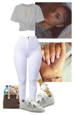 """""""Been off for a while"""" by badgirlbrie on Polyvore featuring T By Alexander Wang, Puma and Bulova"""
