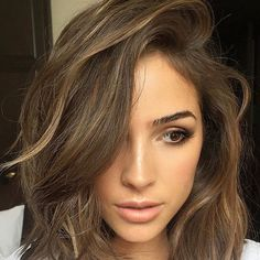 "Olivia Culpo on Instagram: ""Light hair and makeup for today @katkoncept @nails_byely @katiejanehughes"""