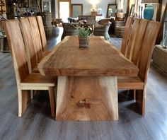 Our one of a kind handmade and naturally beautiful rustic wood table set certainly provides that 'WOW' factor to any living space. With their chunky and natural edge look they add both character and charm to your home. Imagine the conversations you will have around these tables...